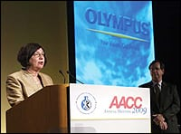 Olympus America Sponsors Partnership Awards and Oliver Sacks address at AACC.