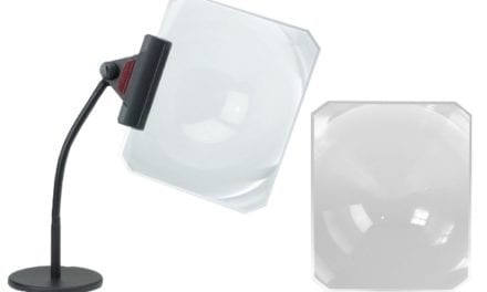 Lens Magnifier and Stand
