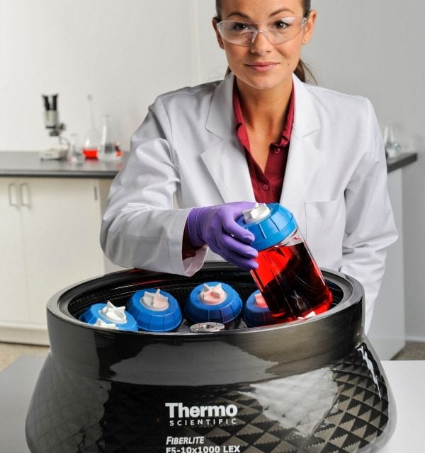 Thermo Centrifuge Accelerates Bioprocessing