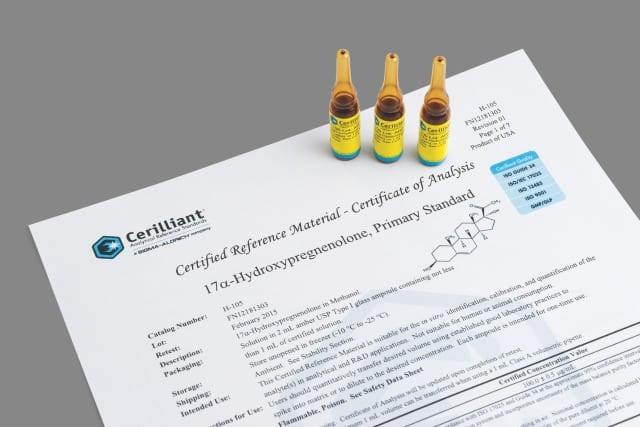 Corticosteroid Reference Materials Highlight Pain Biomarkers
