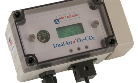 Air Quality Monitor Tracks O2 and CO2 Levels in Confined Spaces