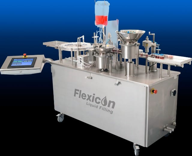 Filling and Capping System Fills Vials at Up to 20 VPM