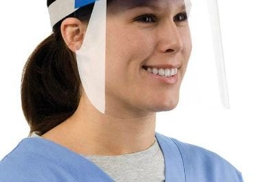 Tear-Off Face Shields Protect Against Ebola