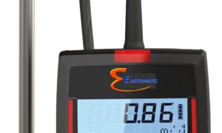 Redesigned Thermo-Anemometer Offers 180°F Range