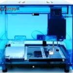 Personal Microarrayer Features Patented Contact Printing