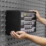 Steel Brackets Support Plastic Storage System
