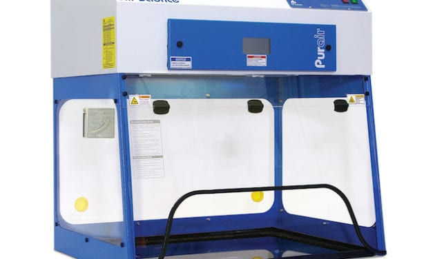 Fume Hoods Suited for Positioning over Sink, Benchtop Devices