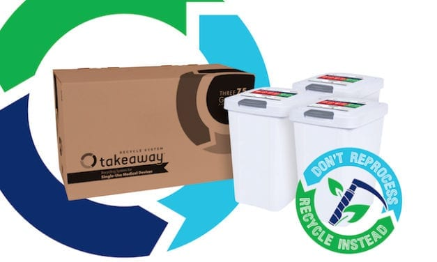 Recycling System Offers Safe Disposal of Single-Use Medical Devices