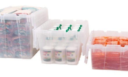 Attached-Lid Containers Provide Secure Storage