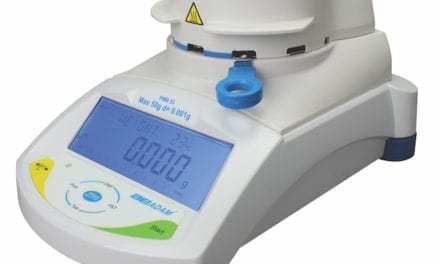 Moisture Analyzer Supports Fast Sample Drying