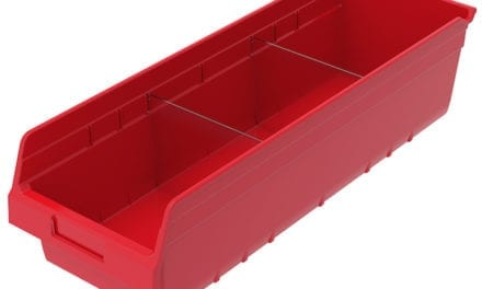 Clear Bin Dividers Enable Maximum Visibility