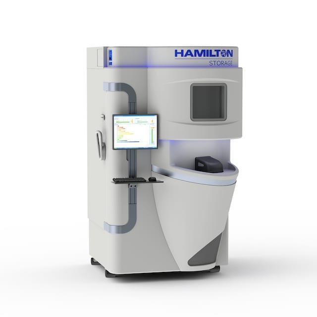 Sample Management System Facilitates Automated Low-Capacity Biobanking