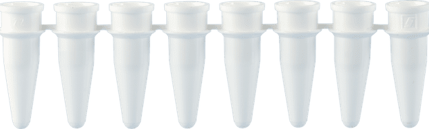PCR Tubes Available with White Option