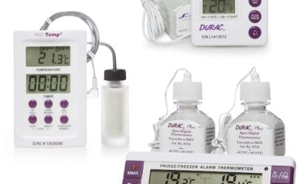 Electronic Verification Thermometers Calibrated for Specific Applications