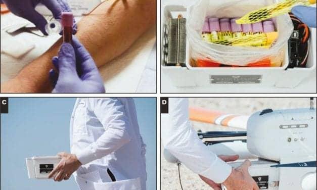 Study Shows Promise for Medical Sample Transport Via Drones
