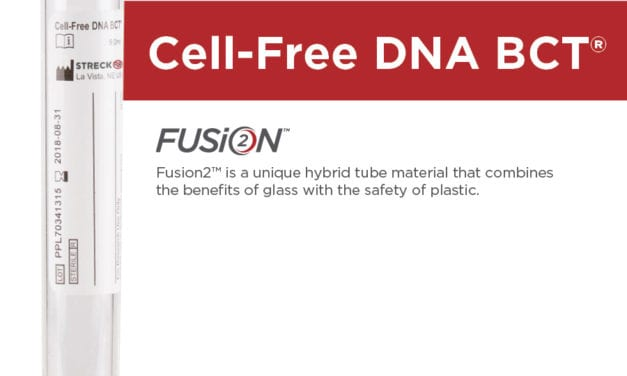 Streck Launches Fusion2 Hybrid Plastic Blood Collection Tubes