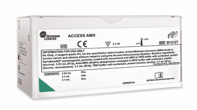 FDA Clears Beckman AMH Immunoassay Developed for Fertility Patients