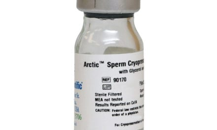 Irvine Scientific Releases Sperm Cryopreservation Medium