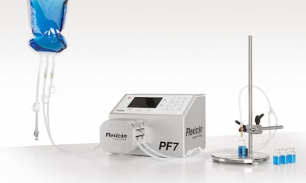 WMFTG Unveils Tabletop Peristaltic Liquid Filling Machine
