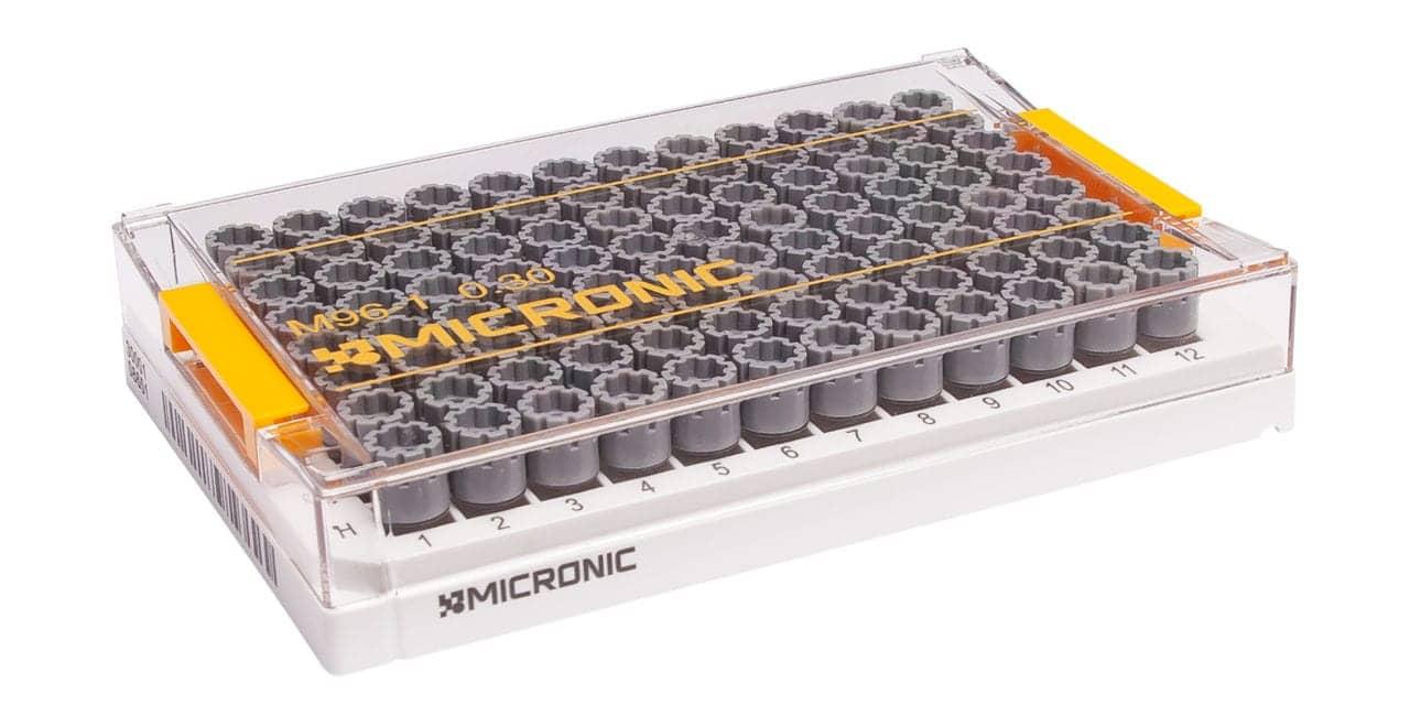 Micronic Storage Tube Supports Low-Volume Genomics