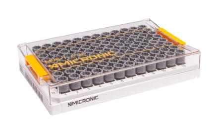 Micronic Storage Tube Supports Low-Volume Genomics