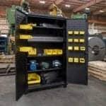 Heavy-Duty Cabinets Feature 12-Gauge Steel