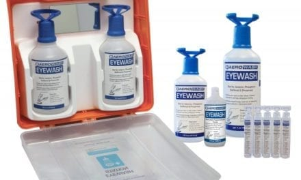 All-in-One Eye Wash Provides Immediate First Aid for the Eye