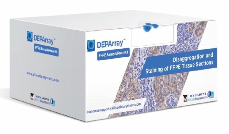 Menarini Silicon Biosystems Introduces Preparation Kit for FFPE Tissue Samples