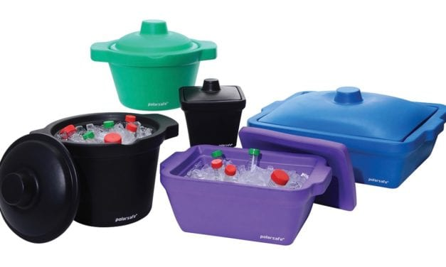 PolarSafe EVA Ice Buckets and Pans for Benchtop Cryogenic Chilling