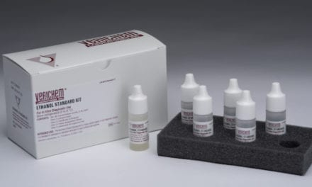 Verichem Laboratories Offers Liquid Stable Ethanol Standard Kit