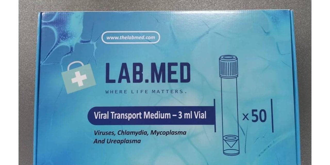 LabMed Ships 65M Medical Masks, 38M VTM Kits to Fight Covid-19