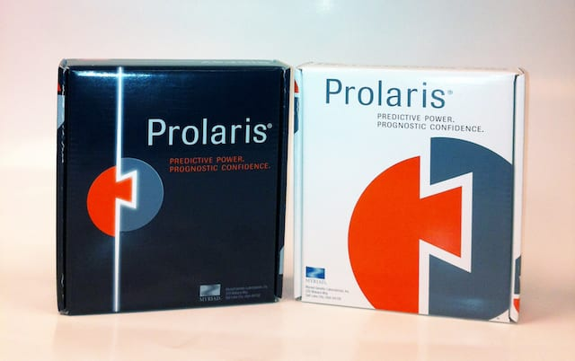 Study Validates Ability of Myriad Genetics' Prolaris Test to Guide Treatment for Prostate Cancer