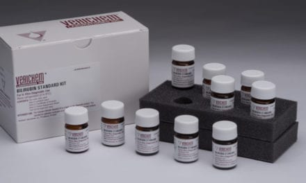 Verichem Offers Extensive Reference Materials Line for Bilirubin Testing