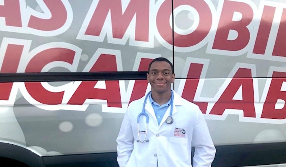 Houston Teen Creates Innovative Mobile Medical Lab for Rapid Covid-19 Testing