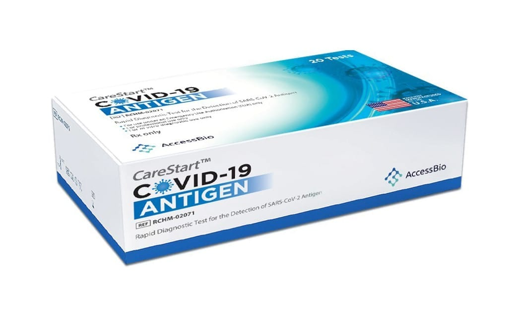 CareStart Covid-19 Antigen Test Kit Using NanoAct Launches in US