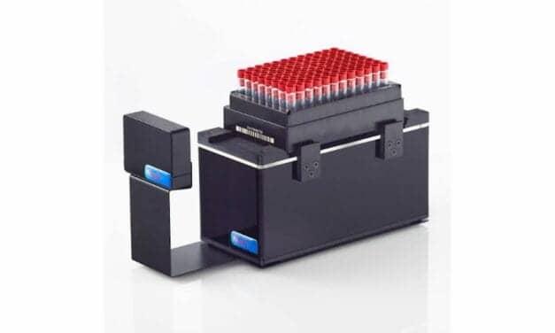 Compact Rack Scanner for Easy Liquid Handling Robot Integration