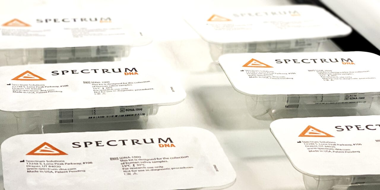 Spectrum Solutions to Provide Saliva Collection Devices for British Covid-19 Testing Mandate
