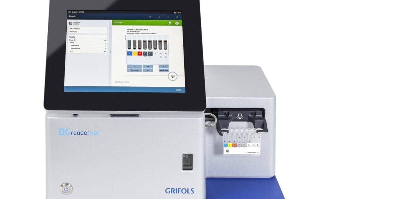 Grifols Installs First-Ever DG Reader Net Analyzer in North America