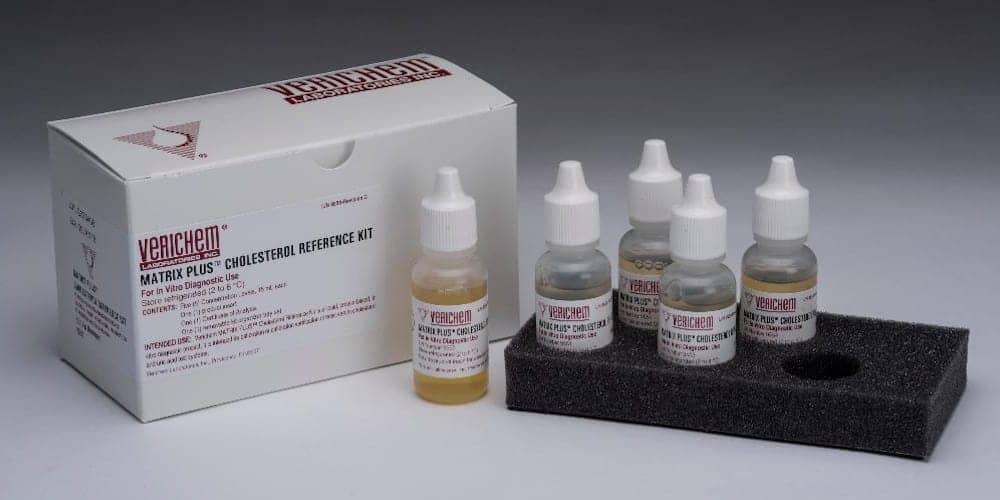 Verichem Combined Cholesterol/Uric Acid Standard Reference Kit