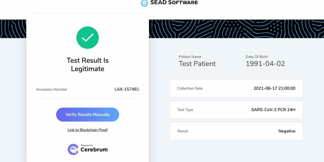 Cryptographically Verifiable COVID-19 Tests Come to LAX Airport