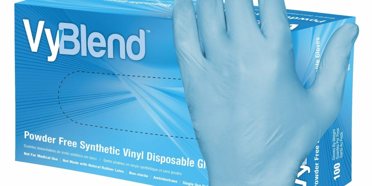 Hospeco Introduces Synthetic Vinyl Gloves