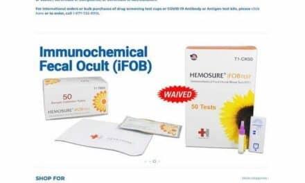 Laboratory Supplier Launches POC Test Kit Website
