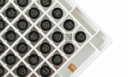Laser-Etched Bottom Rack ID Provides Permanence