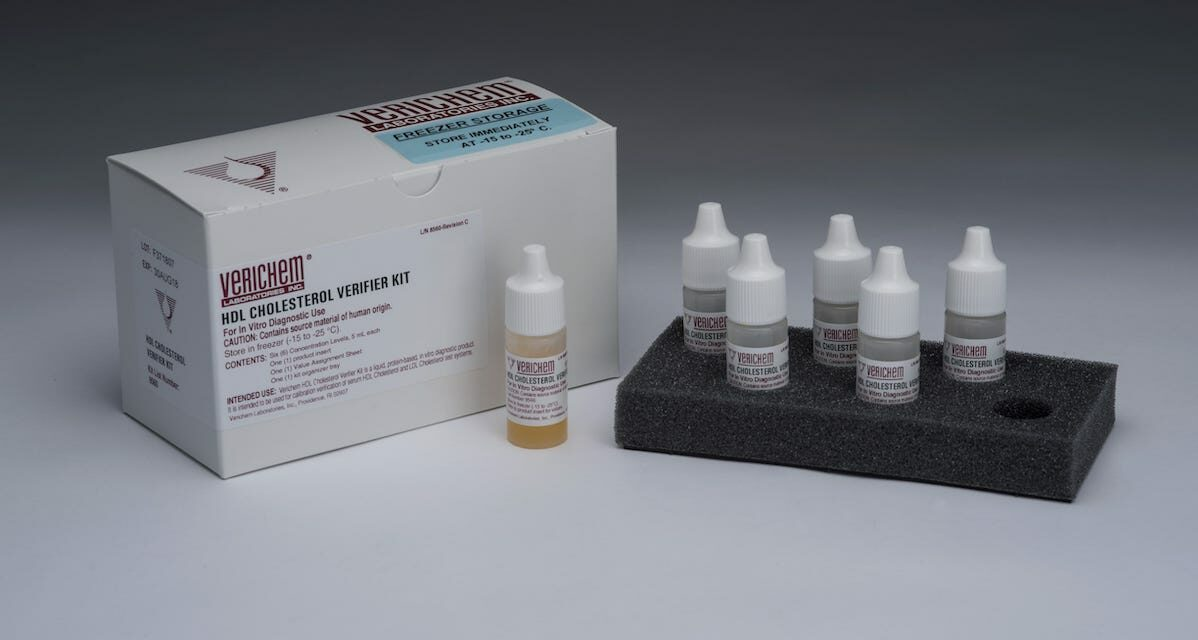 Clinical Reference Materials for Cholesterol Testing Are Now Available